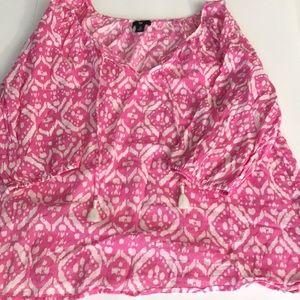 GAP blouse top tunic style M